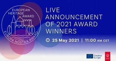 European Heritage Awards 2021 von Europa Nostra