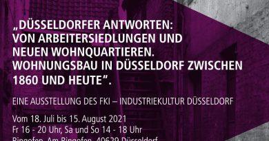 """Ausstellung """"Wohnungsbau in Düsseldorf zwischen 1860 und heute"""""""