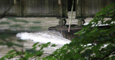 Museumsbahnen und Starkregen-Hochwasser